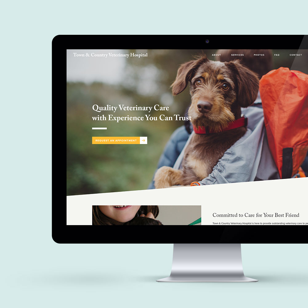 – Town & Country Veterinary Hospital –     Website