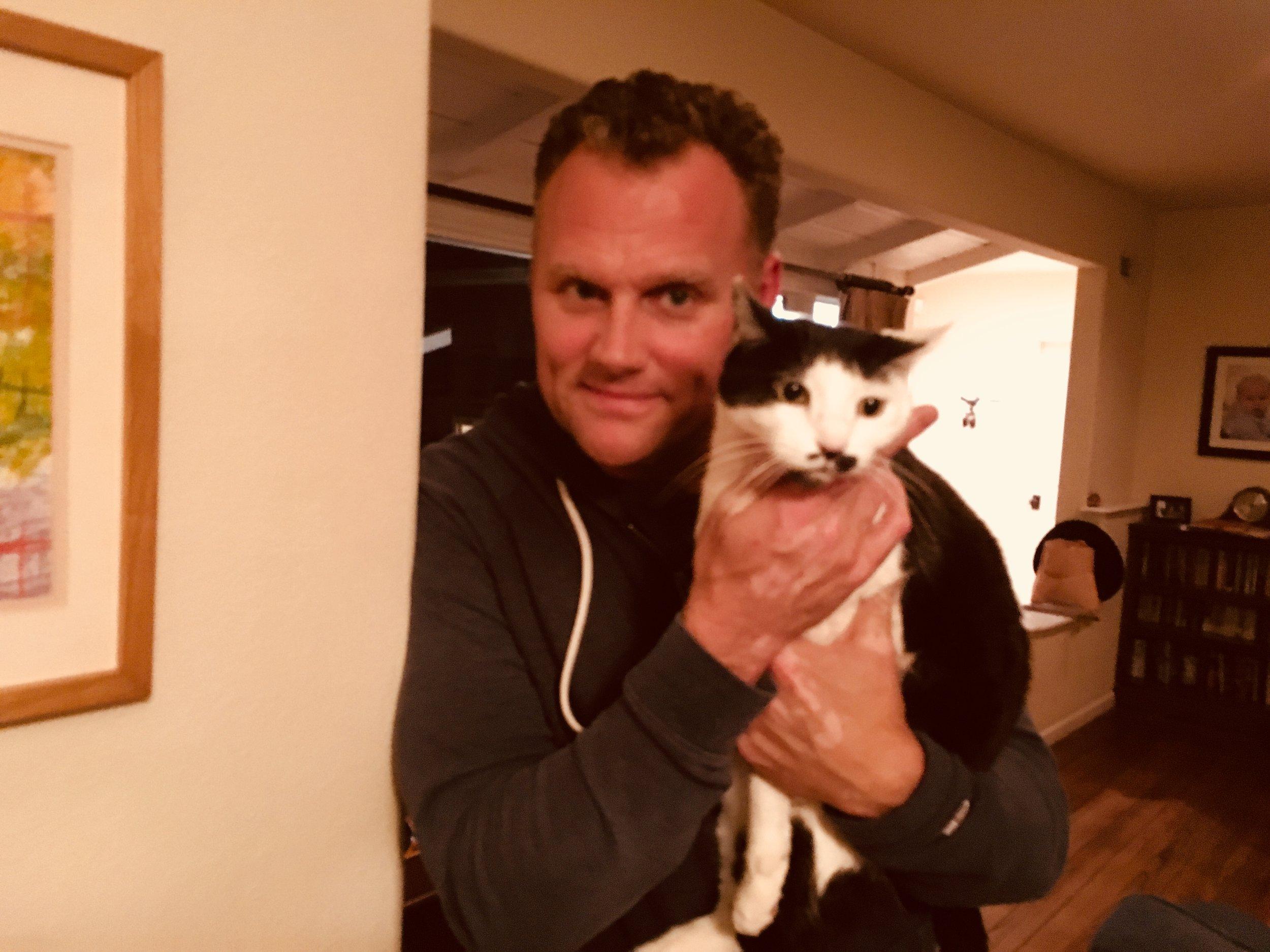 Kirk Ward - Writer, tv creator, animal lover, and confidante.