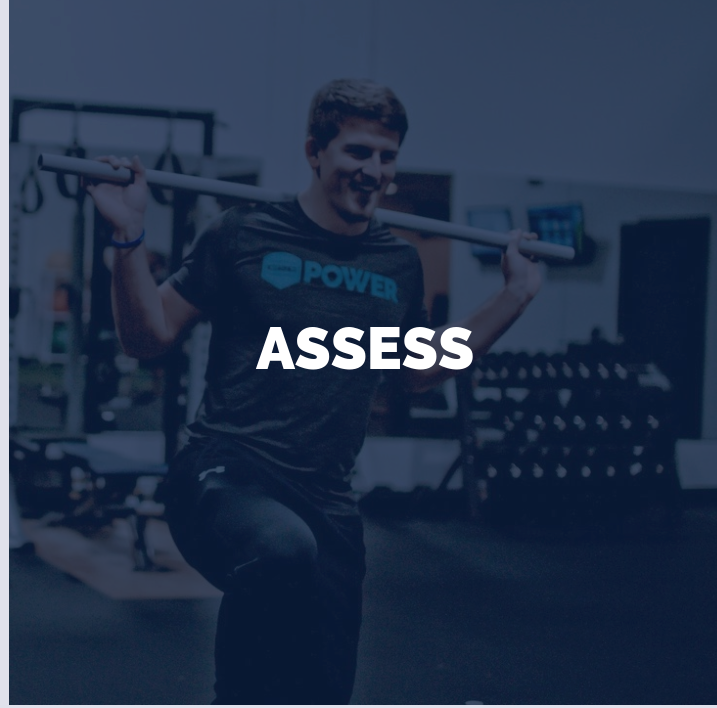 - Everyone starts somewhere, we start with the basics. Our assessment is what gives us the starting point for your program and allows us to progress when you're ready.