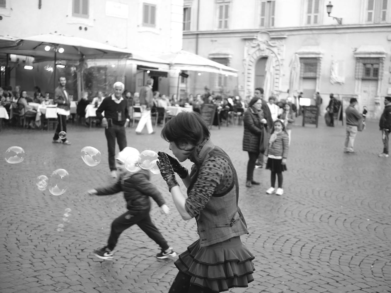 Street performers Trastevere I