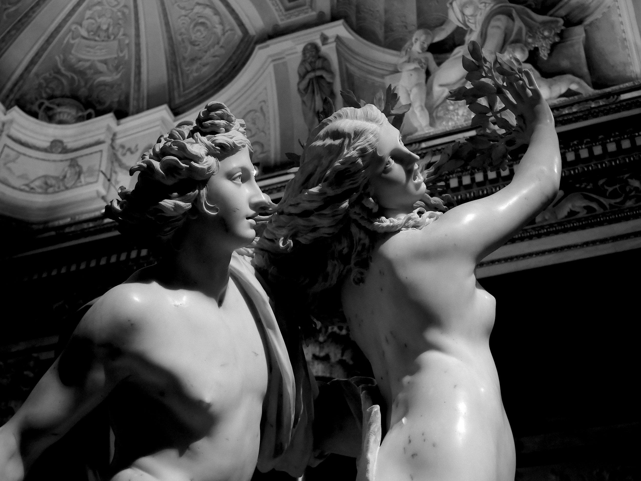 Apollo and Daphne II