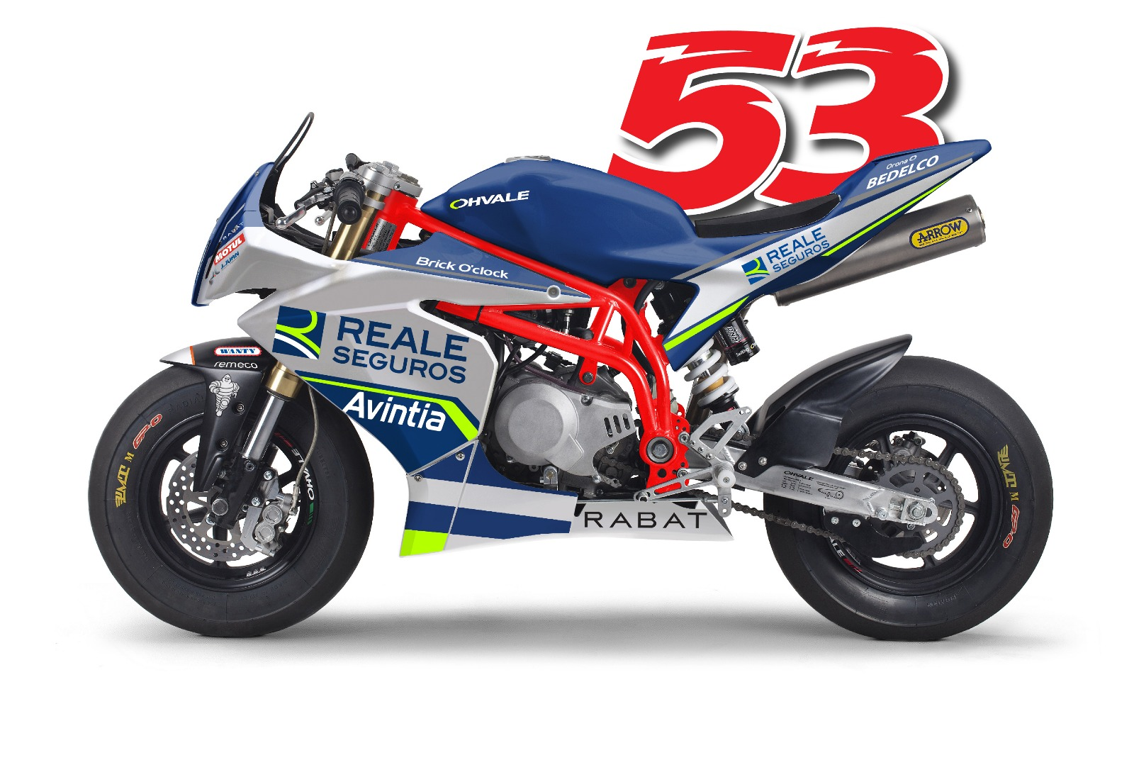 Reale Avintia Ducati MotoGP 2018 - Tito Rabat