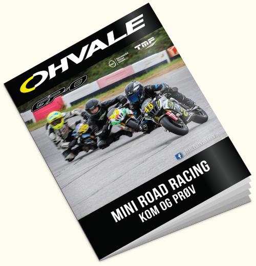 Klik her for at læse mere om hvordan du kommer igang med Ohvale og Mini Road Racing