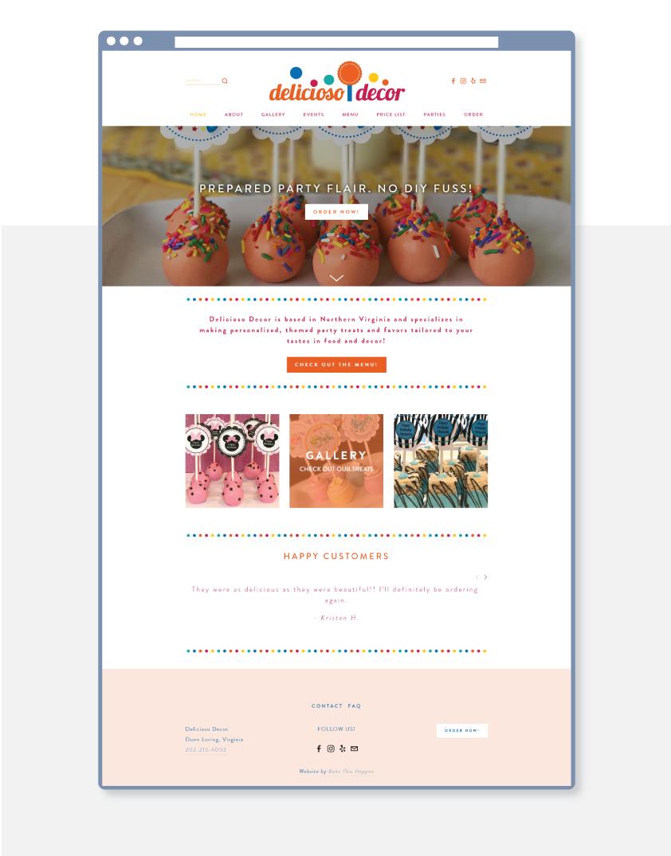 Premium website design services
