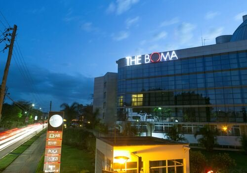 Boma Hotel in Nairobi, site of the meetings focused on the fight against AIDS in Kenya.