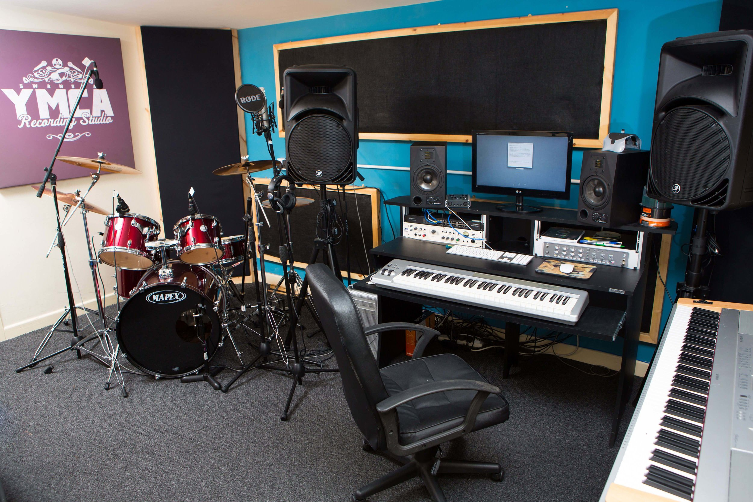 ymca - rehearsal rooms / recording studio