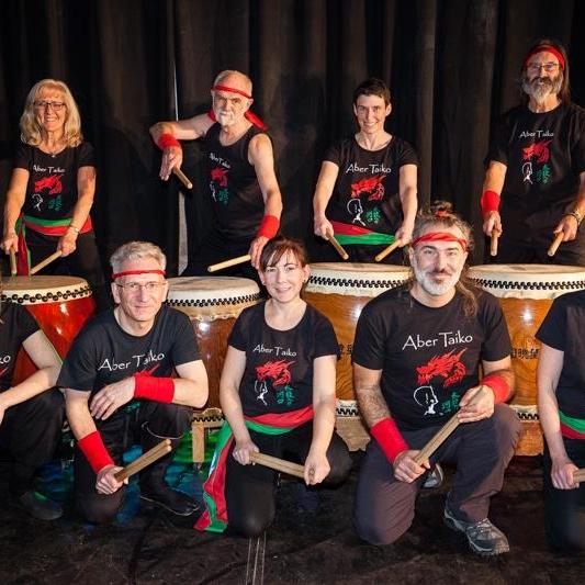 Aber Taiko - Japanese Drumming Group