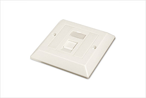 Ultima Assembled Bevelled Euro Faceplates