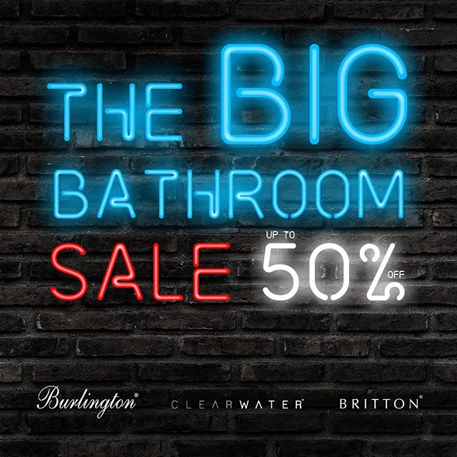SALE NOW ON! We are offering up to 50% off selected Bathrooms brands ranges in our big bathroom sale. Promotional Period September 7th - 27th October!  #sale #bathrooms #offer #traditonalbathrooms #modernbathrooms #norwichbathrooms #localretailer #supportlocal #bigbathroomsale #bathroombrands #bathroombrandsale