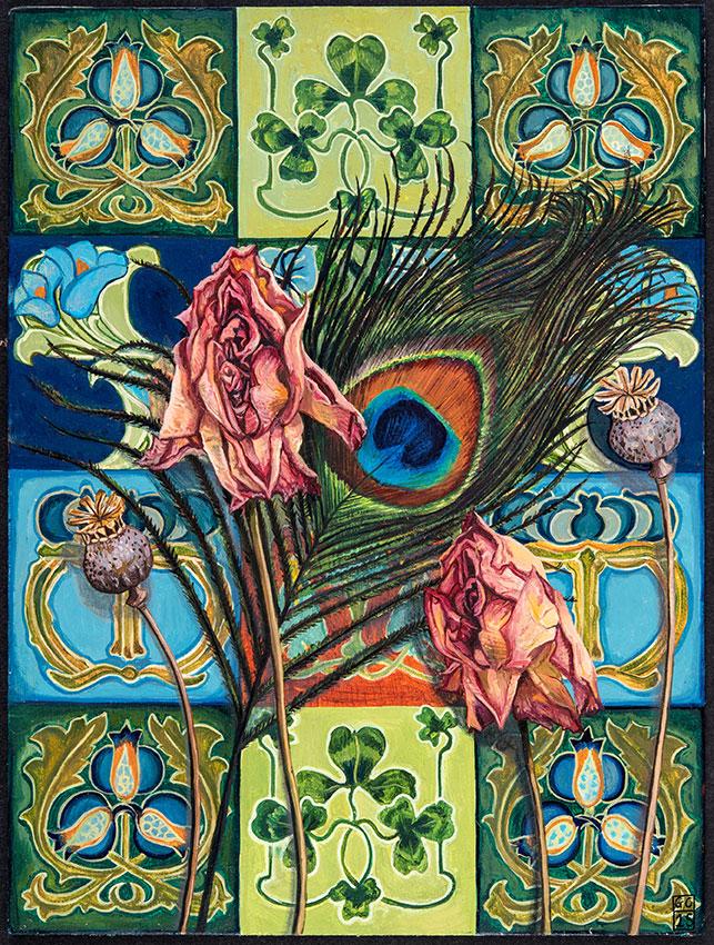 'Assortment', 25cm x19cm, Oil on Card, 2015. SOLD