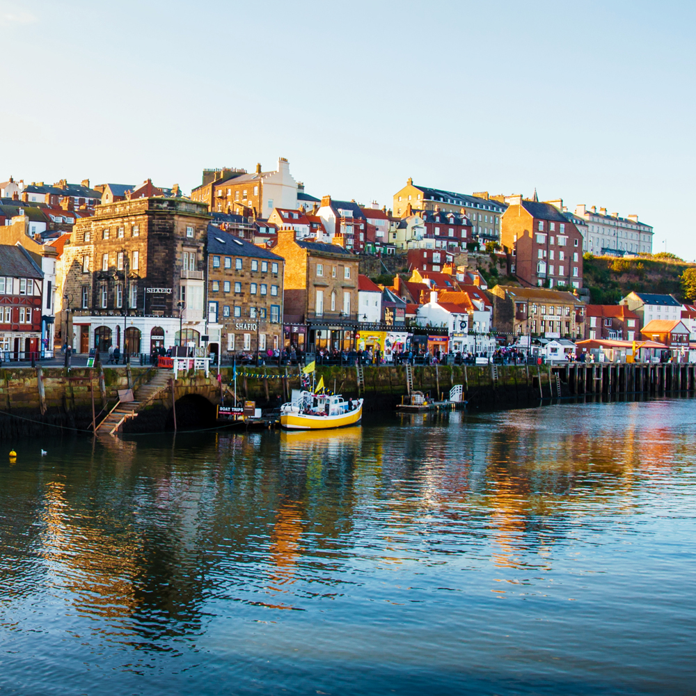 Whitby North Yorkshire Sea Front Harbour Fish And Chips Restaurant Award Winning 5Star Trip Advisor