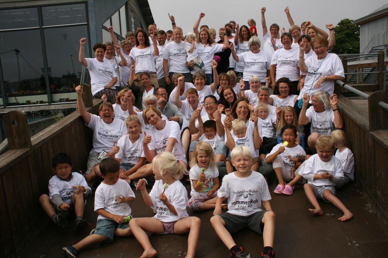Den første sommerskole i 2013, hvor jeg var med som deltager sammen med en familie.