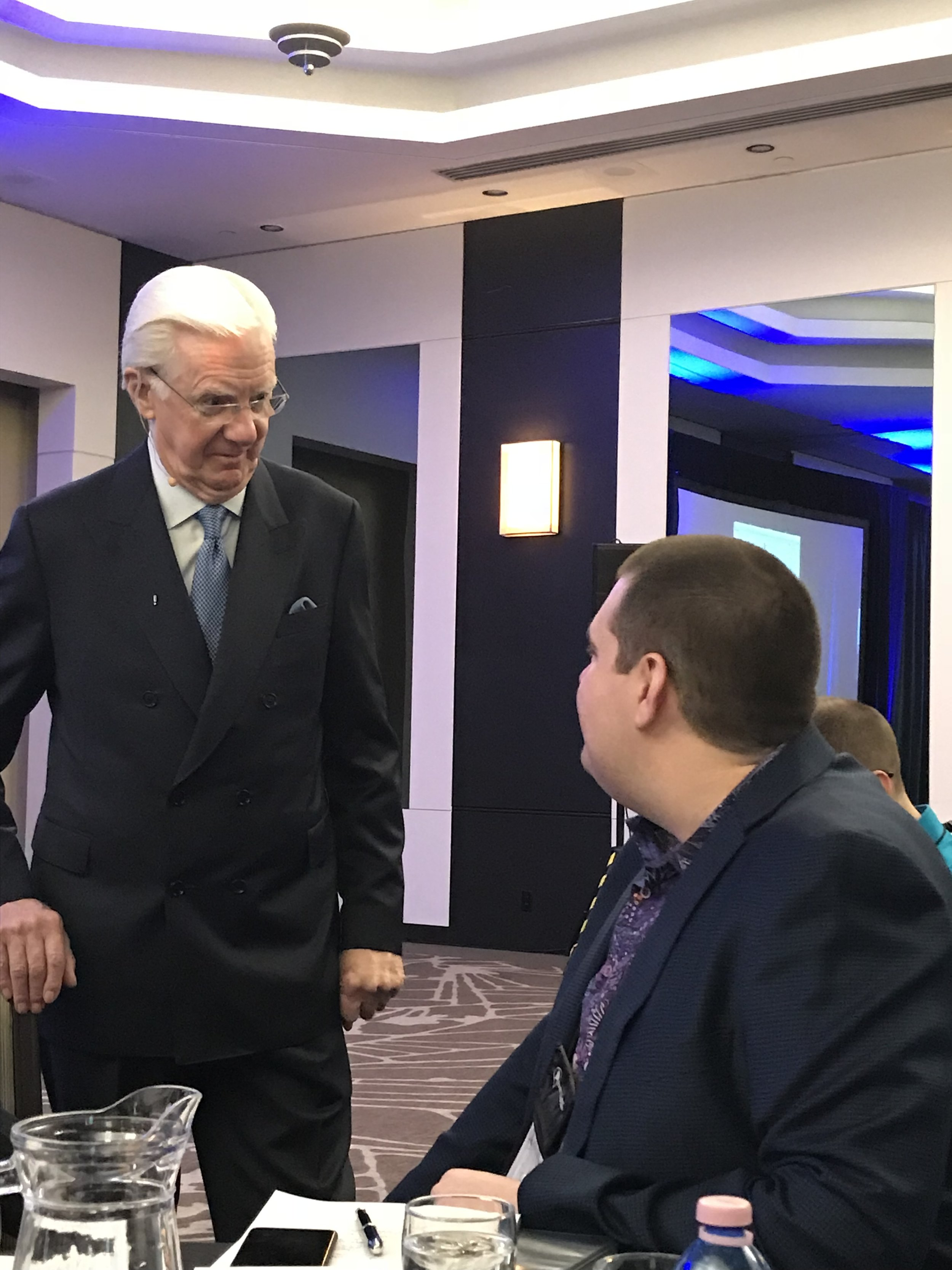 Me learning from the Master Himself, Bob Proctor.