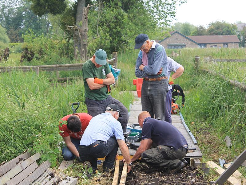 Magor Marsh volunteers 1 June'16.jpg