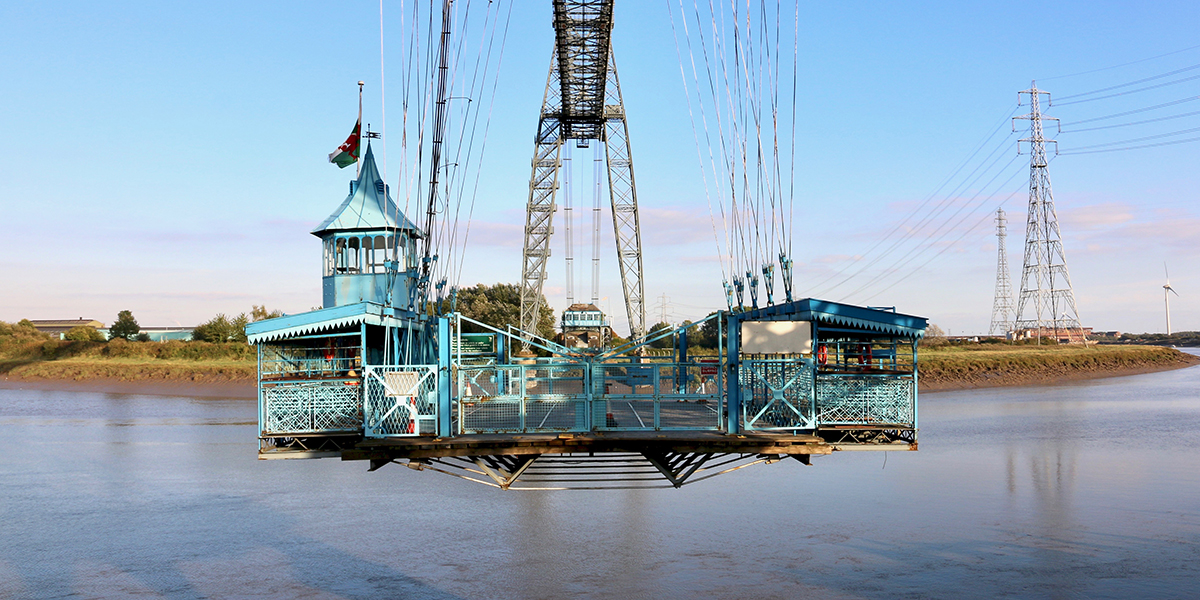 Newport Transporter Bridge gondola (Chris Harris)