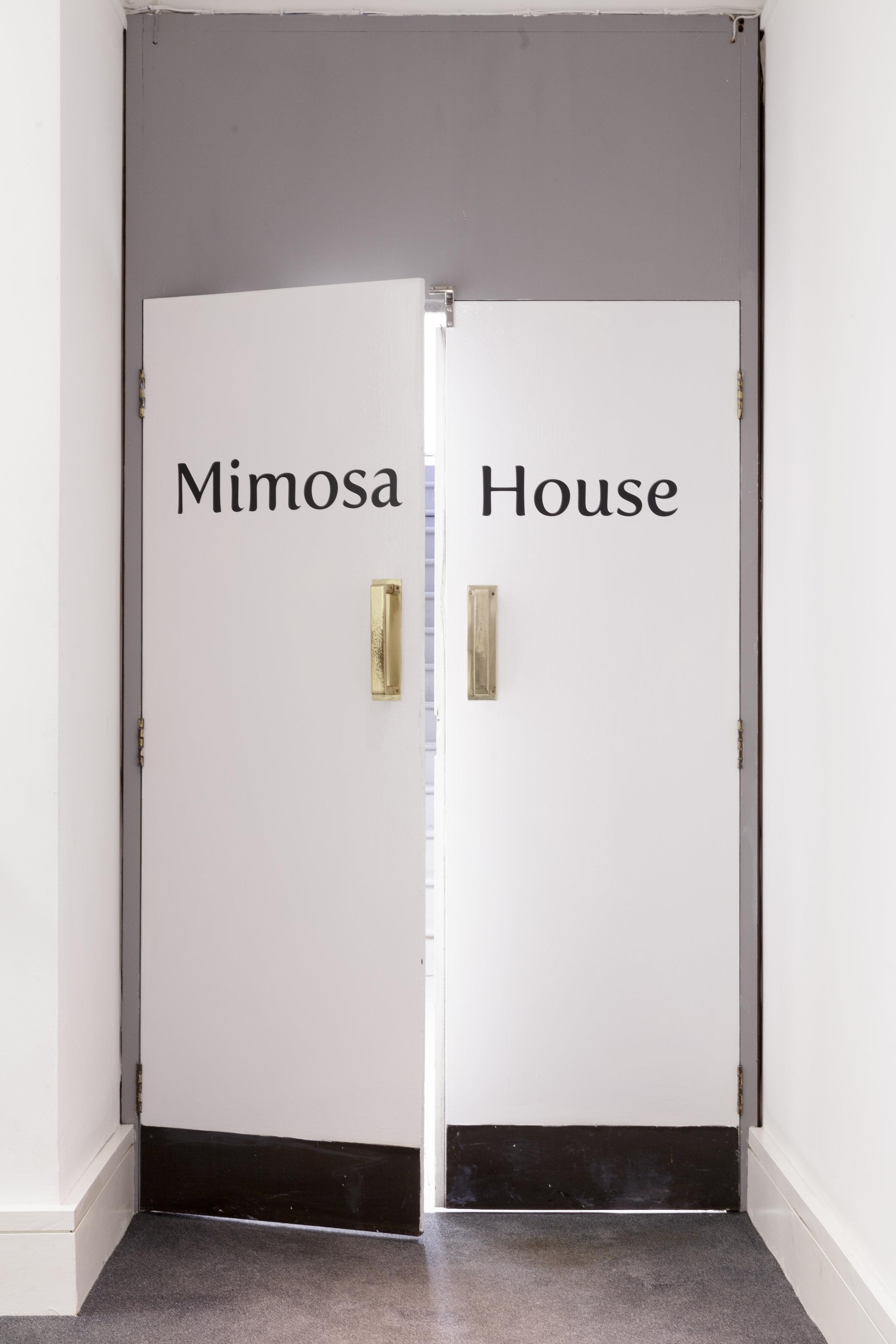 Mimosa House interior entrance, Photo: Tim Bowditch.