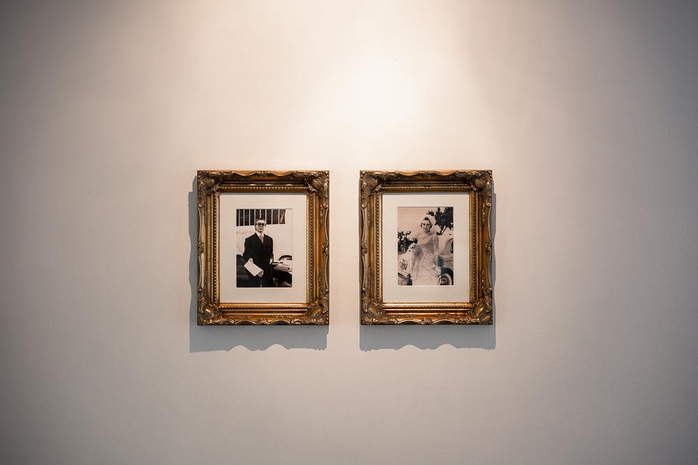 Tomaso Binga, Oggi Spose, 1977. 2 black and white photographs 17 x 12 cm. Courtesy Archivio Binga – Menna © Archivio Binga Menna. Photo Katarzyna Perlak