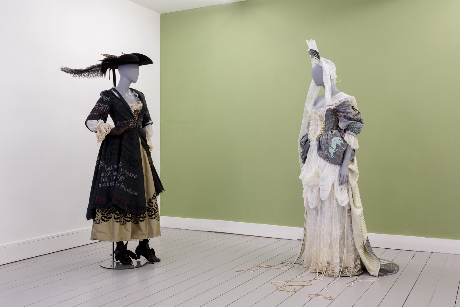 Georgia Horgan, Costumes for 'The Whore's Rhetorick', 2018-9. Courtesy of the artist. Photo: Tim Bowditch