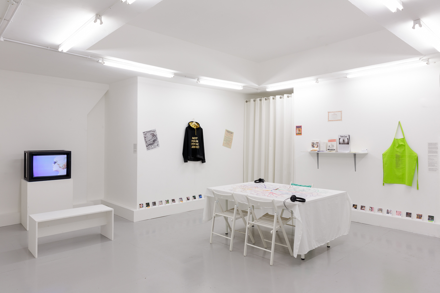 Installation view. Photo: Tim Bowditch