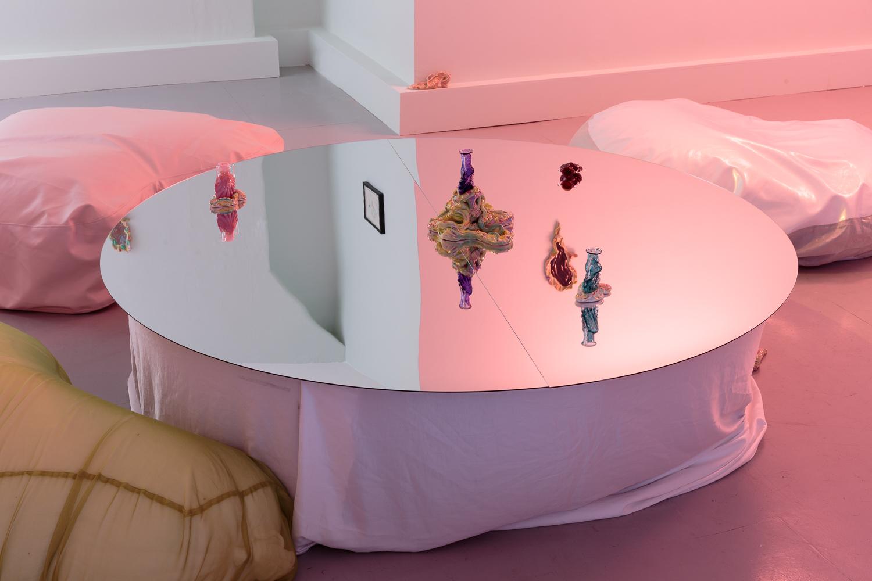 Zoe Williams, Sunday Fantasy, 2019, installation view. Photo: Tim Bowditch