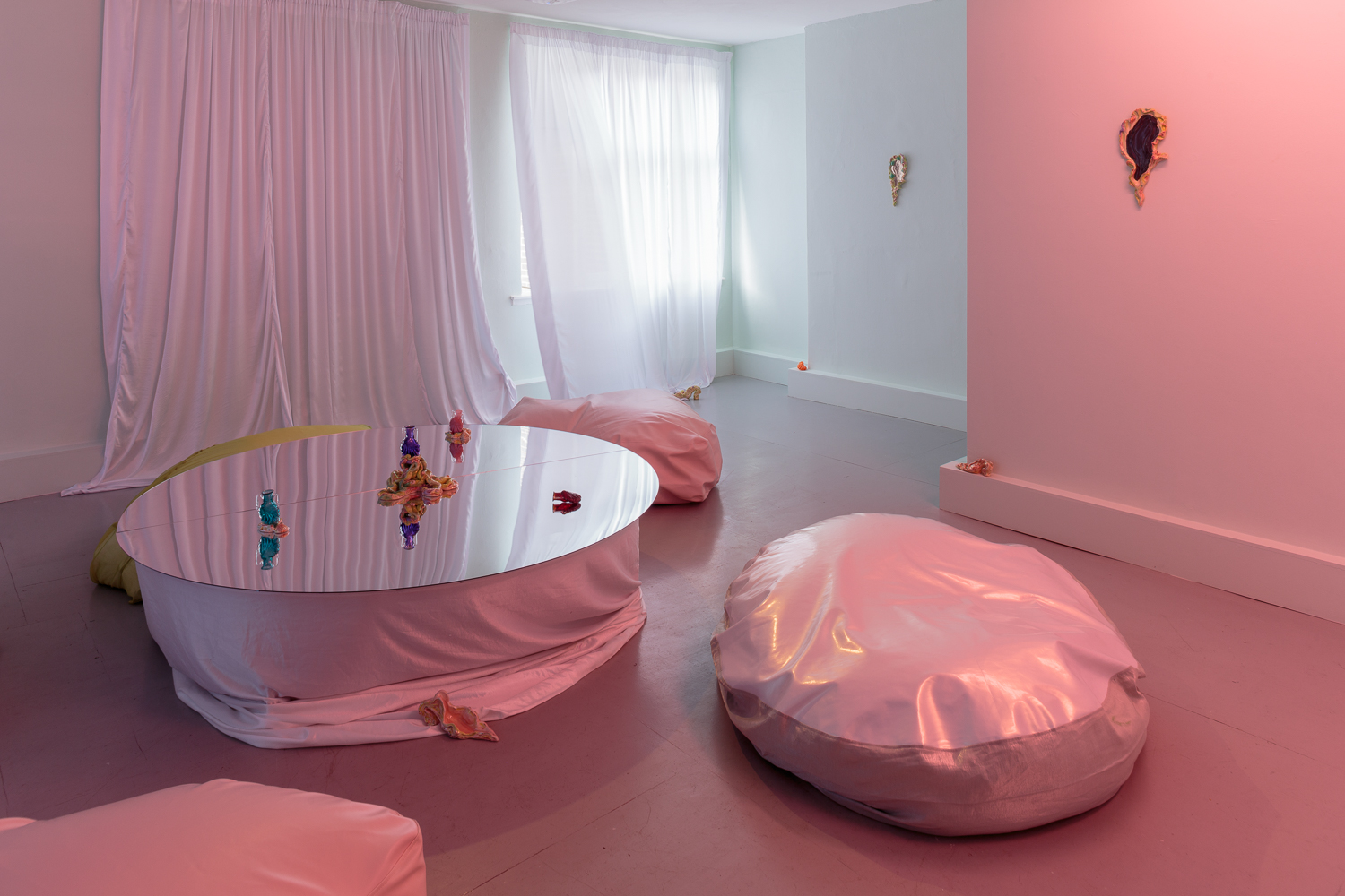 Zoe Williams, Sunday Fantasy, 2019, installation view. Photo: Tim Bowditch