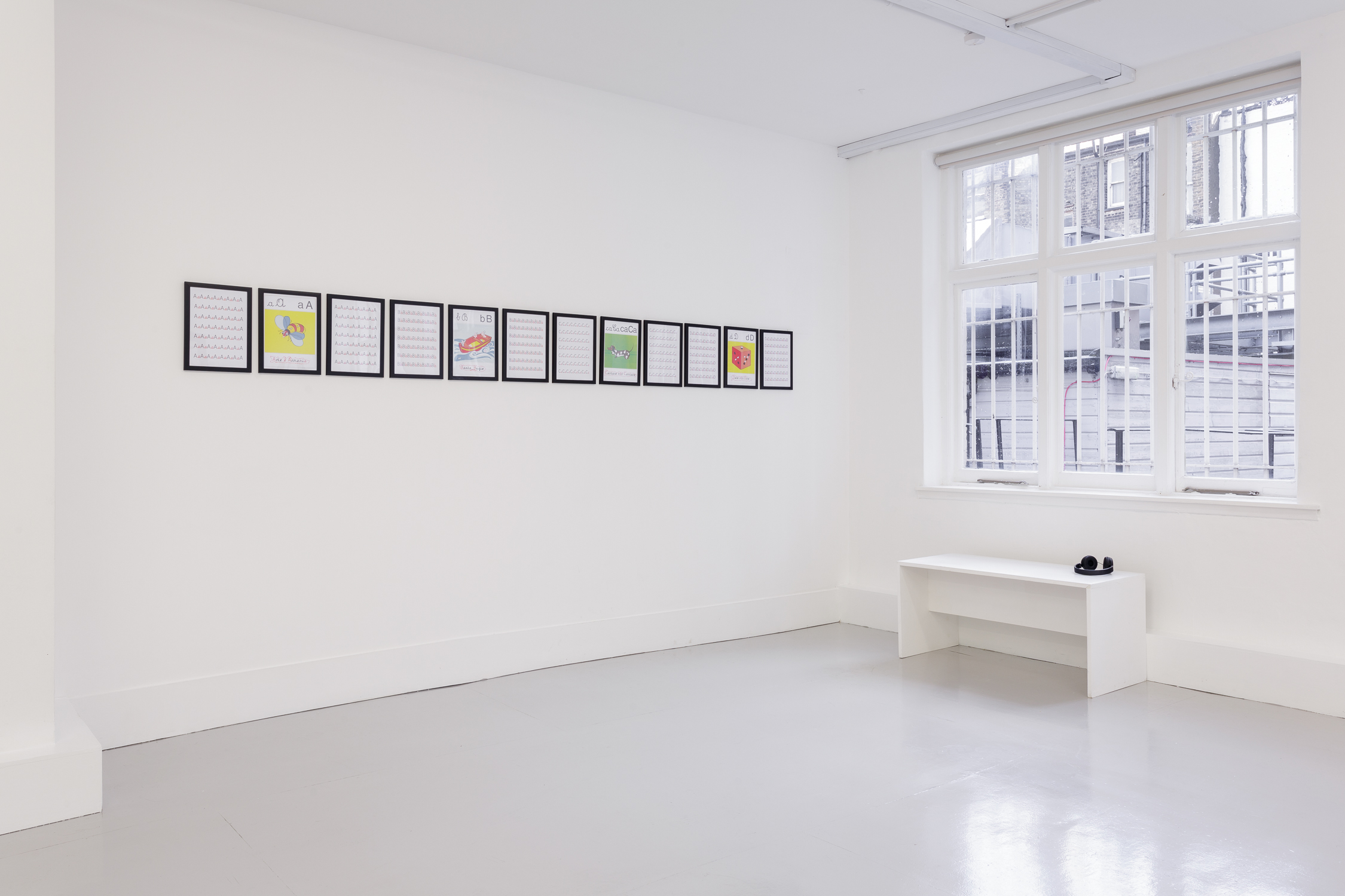 Tomaso Binga, A Silenced Victory, installation view. Photo: Katarzyna Perlak @bothslashand