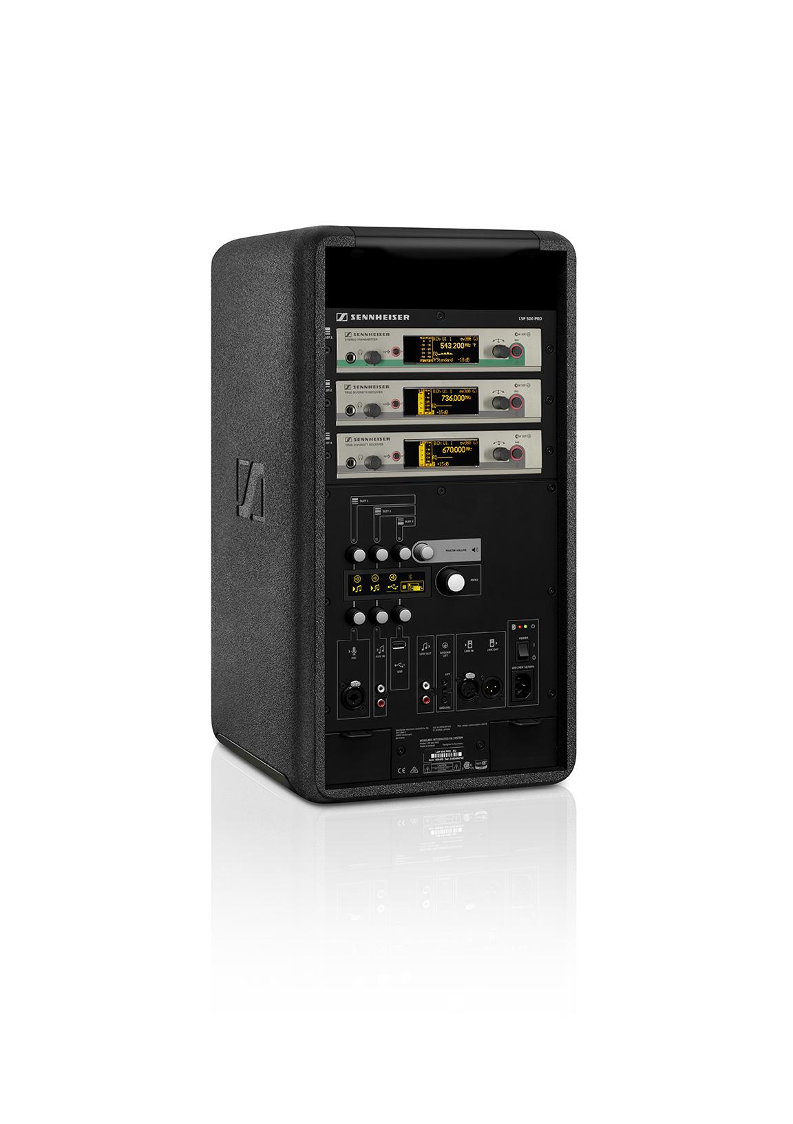 Etterspørselen etter et trådløst system som var lett å håndtere og brukes hver dag førte til at LSP 500 PRO ble opprettet.