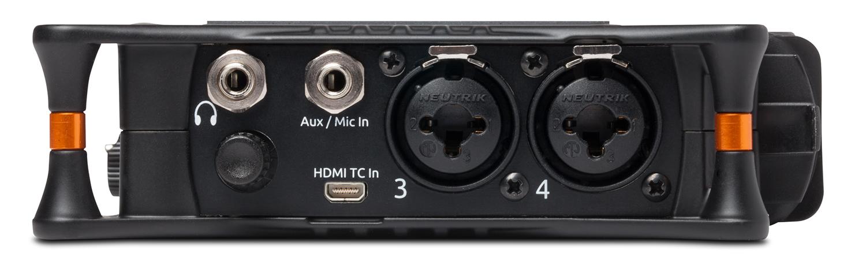 Seks innganger, berøringsskjerm, trådløs kontroll, moderne chassisdetaljer - MixPre-6 føles som et moderne feltbånd.