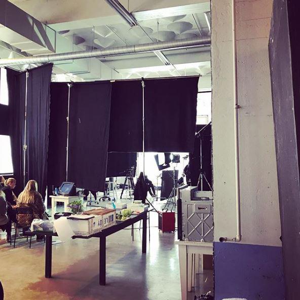 Et av tre studioer hos Zone 5 på Fornebu.