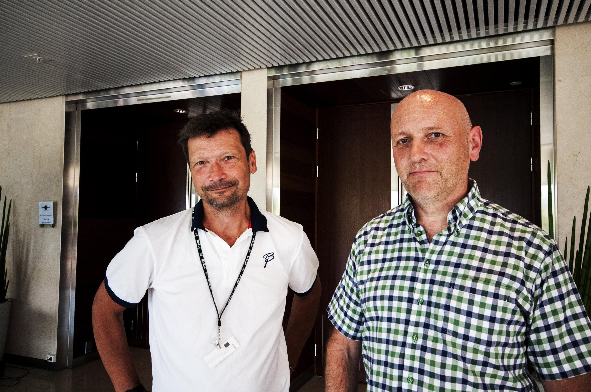 Morten Jutkvam er leder for NSS, mens Tor Vidar Fosse sitter i arrangementskomitéen. de er svært fornøyd med årets utgave.