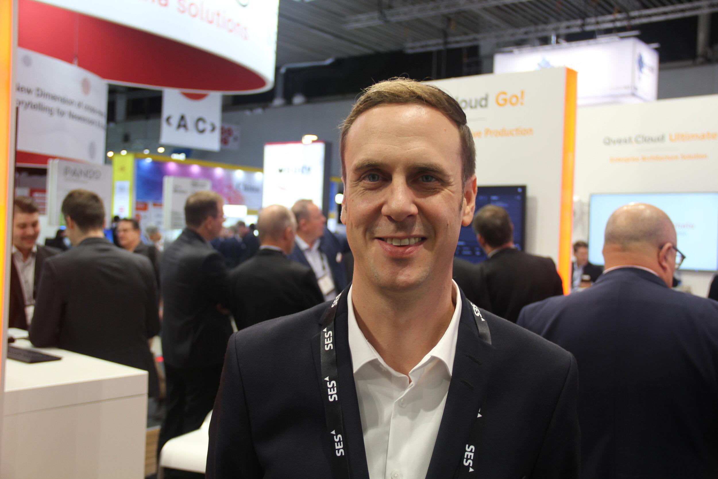 Björn Korb fra Qvest Media fortalte om deres sky-løsning