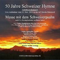 Vergriffen - Fr. 25.- + Fr. 5.- PortoLive Aufnahme des Konzerts vom 12. November 2011 in der Ref. Kirche Bäretswil. Hauptwerk ist die vervollständigte
