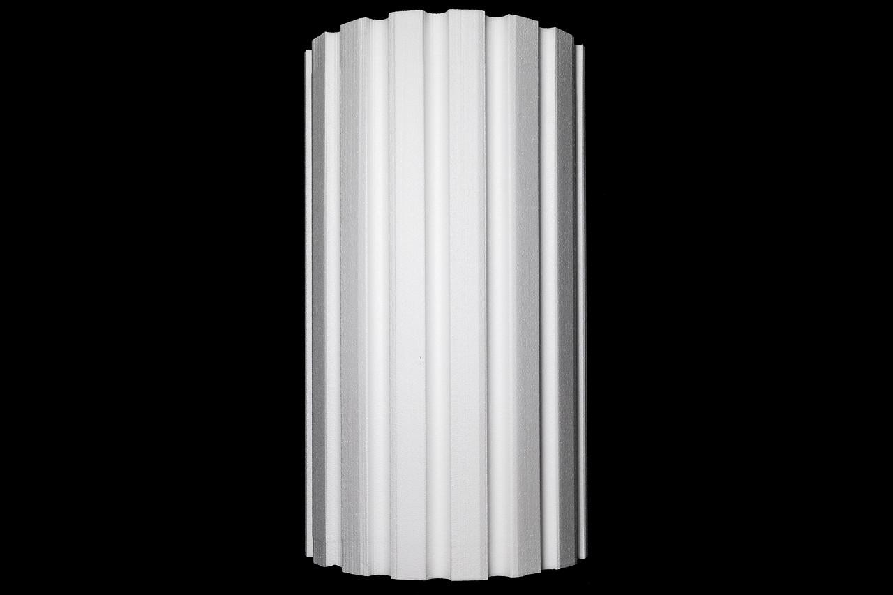 "27"" Fluted Half Column"