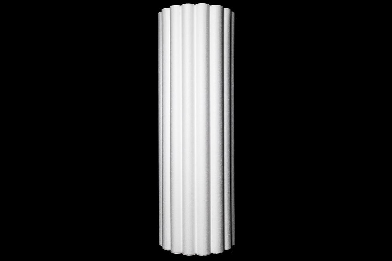 "15 ¾"" Scalloped Half Column"