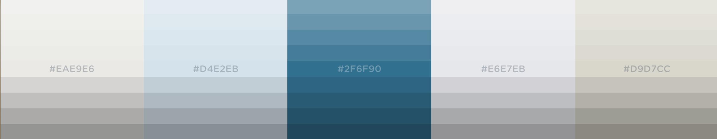 MBV Color Palette