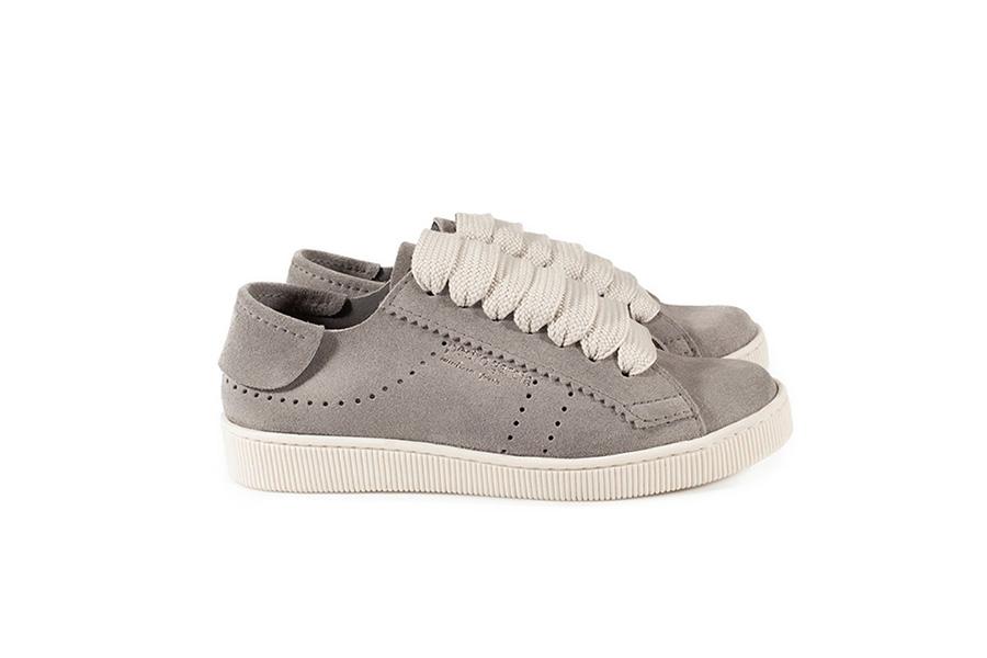 Pedro Garcia, Perry Suede Sneaker, Grey, €325