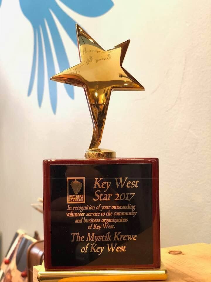 2017 Award from the Key West Chamber of Commerce