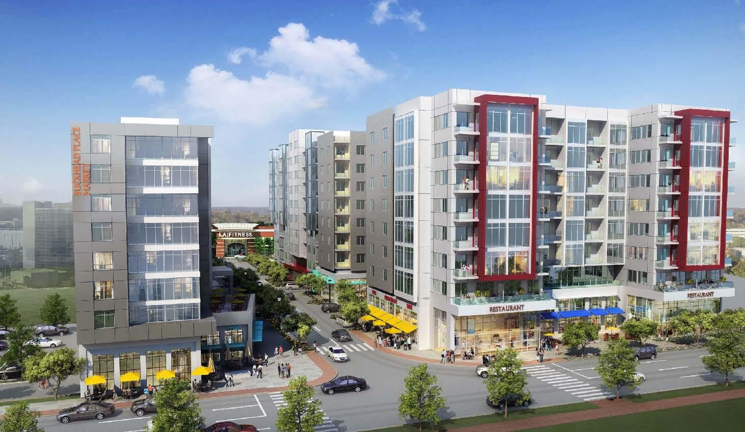 Major multi-use project planned on Piedmont next to Disco Kroger center