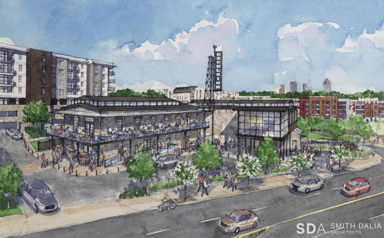 Meet North + Line, the new $60 million mixed-use project replacing the Masquerade