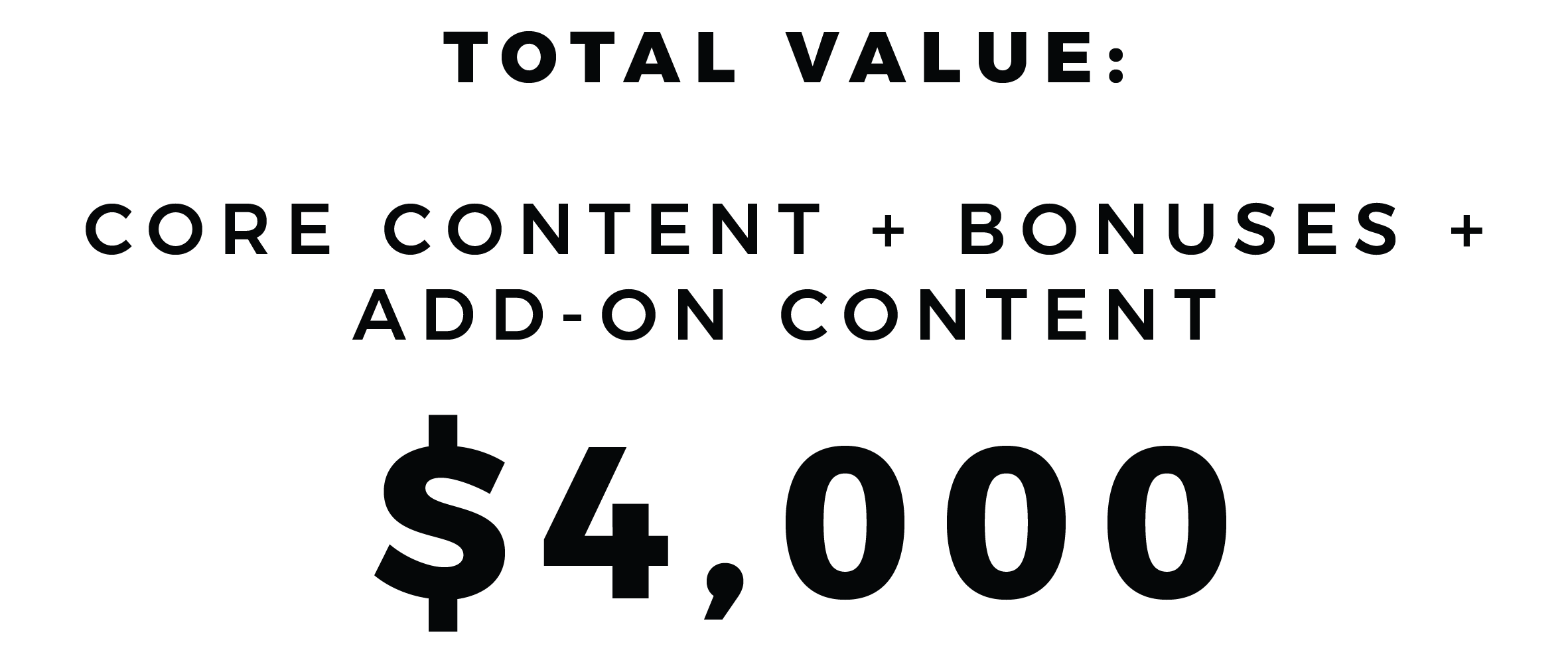 total content value