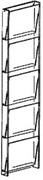 Wall mount Vertical Brochure Magazine Display.jpg