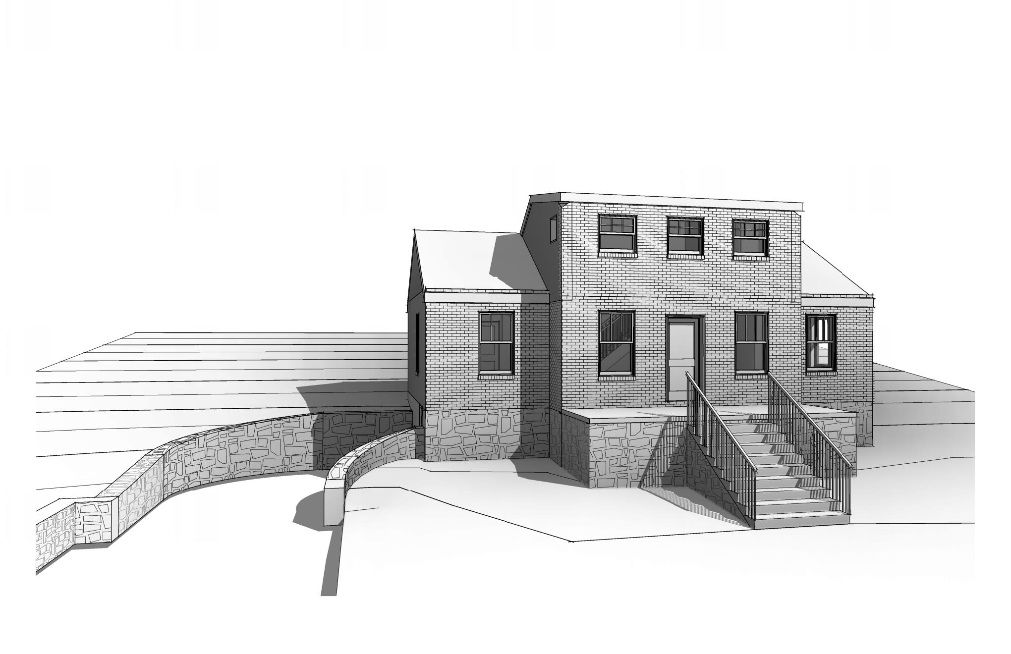 3D rendering of existing property