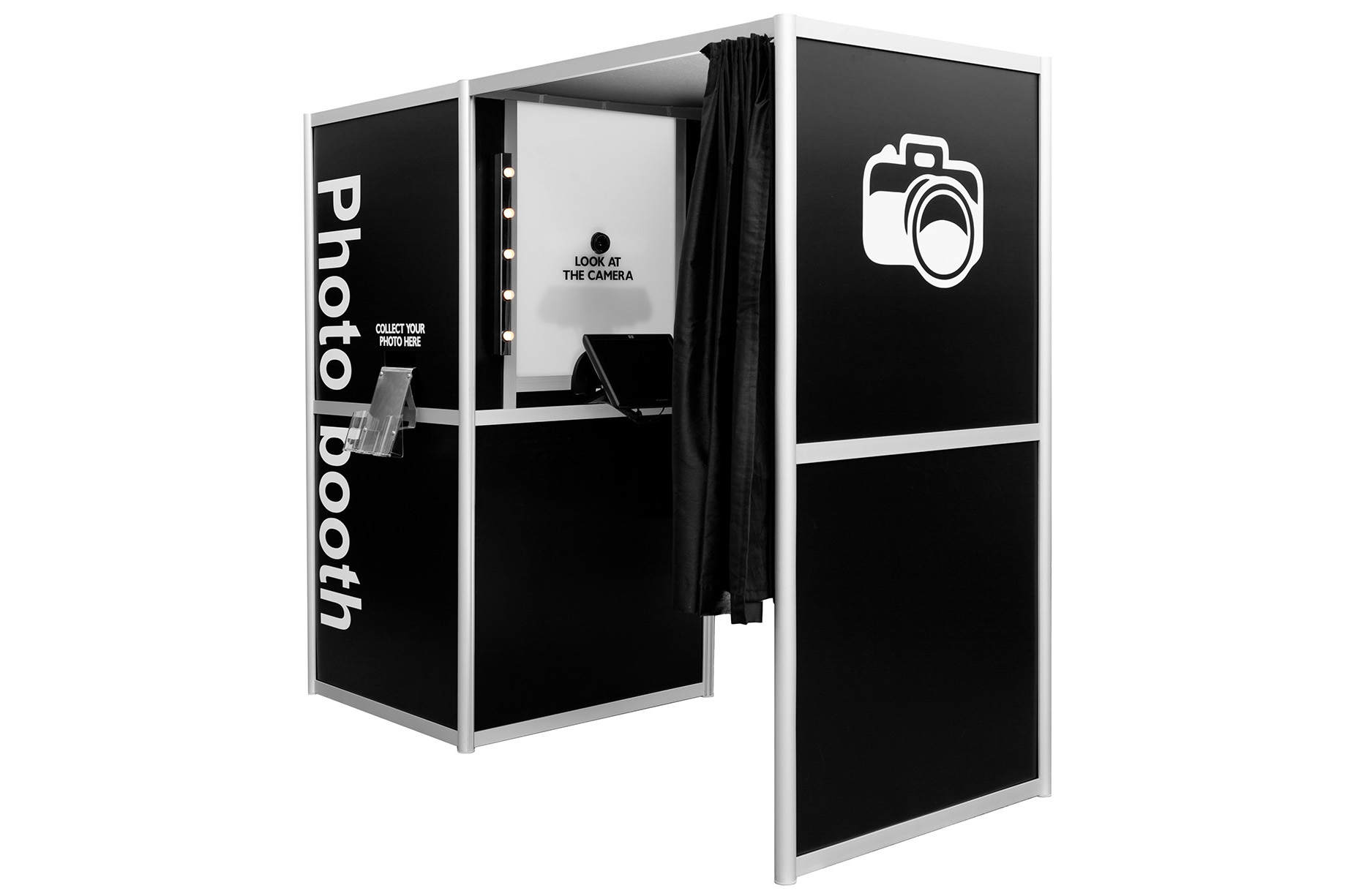 Photo booths of all-types to fit your needs from nightlife or indoor set-ups…