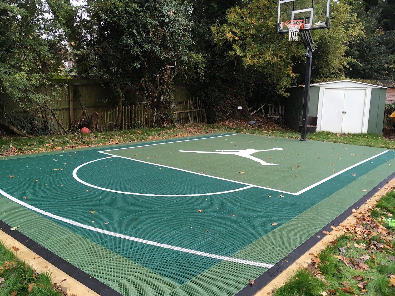 Sport Court 18 X 27 Compact Fiba Half