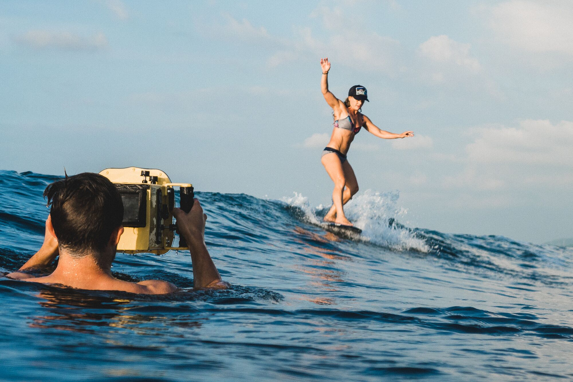 Filming for Brilliant Corners with Sam Bleakley in the Phillippines. Photo ©Ian Zamora