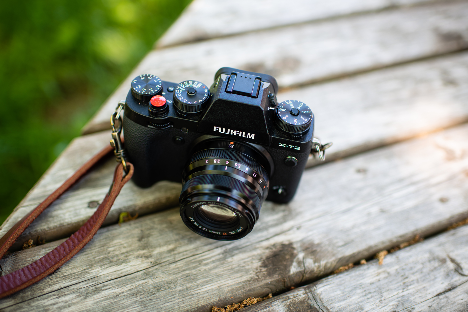"""The Fujifilm XT-2 and the FUJINON XF35mmF2 R WR. I have been """"testing"""" the Fuji mirrorless system since April and I'm in love. I have so much excitement these days about where the industry is going with mirrorless cameras. Super fun stuff!"""