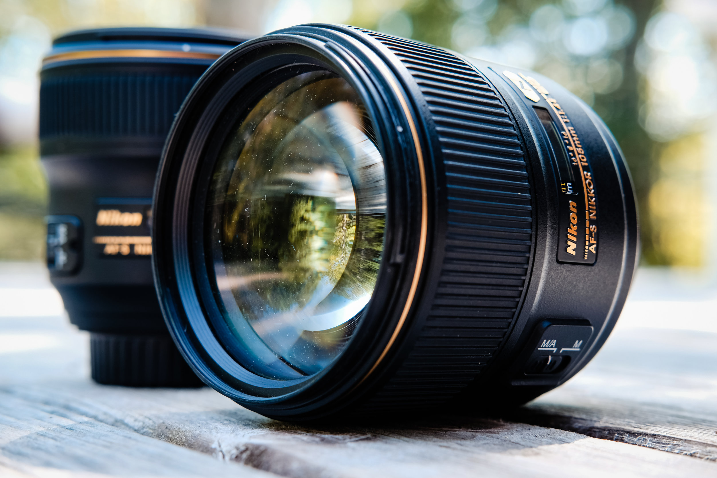 105mm 1.4, excuse the dust!