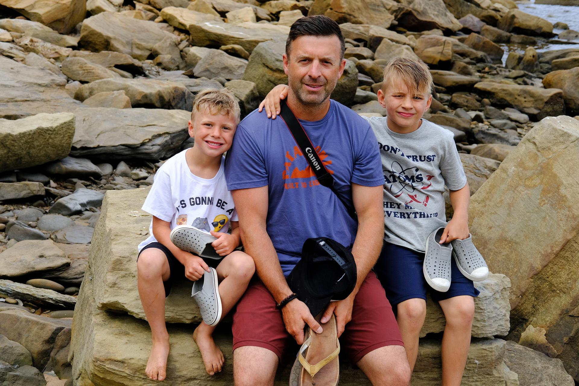 Kieran, Jeff & Kingsley