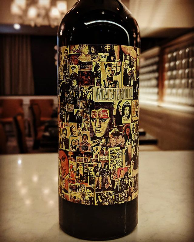 Vandalism is beautiful... 2016's vintage meets Dave Phinney's high viticultural standards selecting grapes from vineyards across Northern California.  Blend of Grenache, Petite Sirah and Syrah.  Aka.... Abstract #forkandbottlemalvern #drinkwine #orinswift #davephinney #vinorojo #redblend #abstractart #vandalismisbeautiful #2016vintage #desmondmalvern #malvernpa
