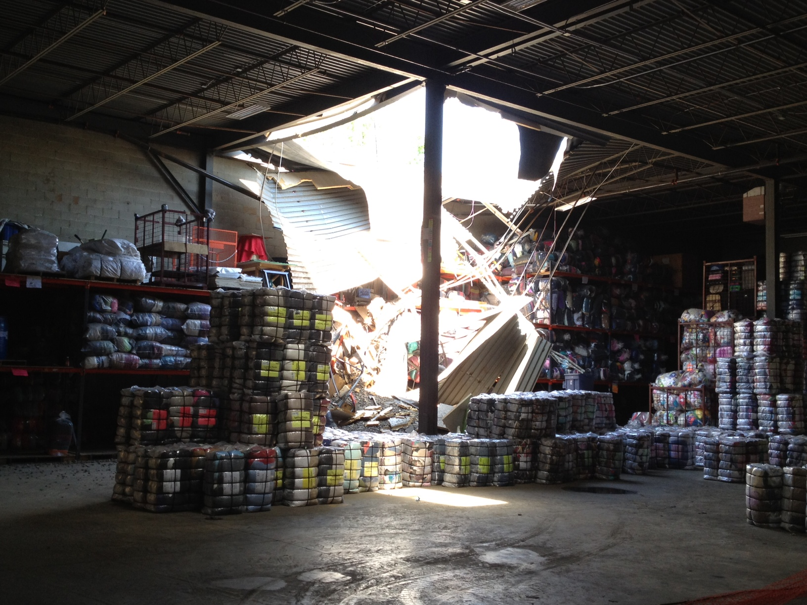 warehouse collapse